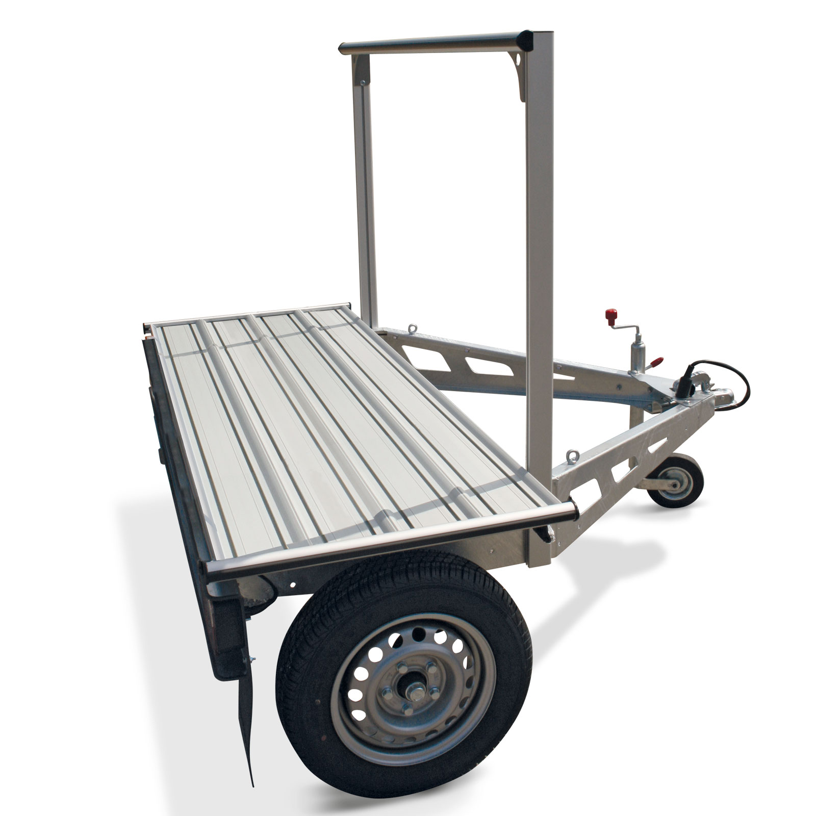 Lengva ir kompaktiška priekaba motoroleriui ir dviračiams TRAIGO 500