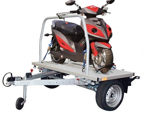 Universali motociklų ir motorolerių priekaba Wheely