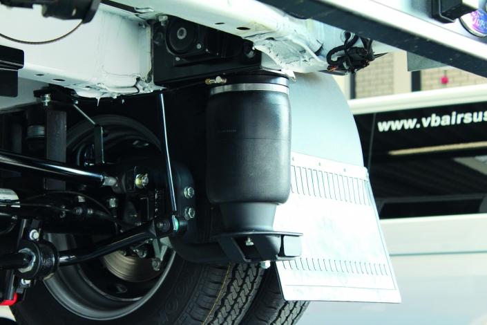 VB Ford transit FullAir sistema - Pneumatinė pakaba su pneumatinėmis oro pagalvėmis