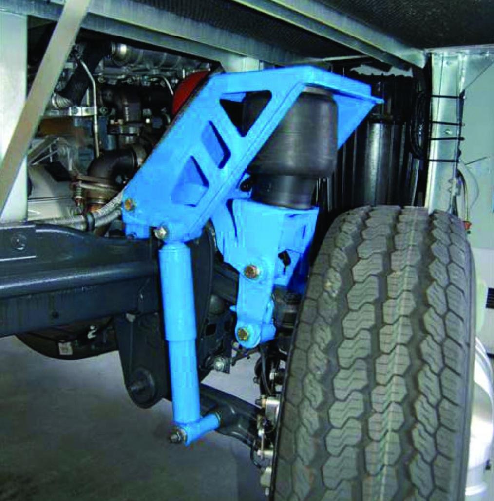 VB Iveco FullAir sistema - Pneumatinė pakaba su pneumatinėmis oro pagalvėmis