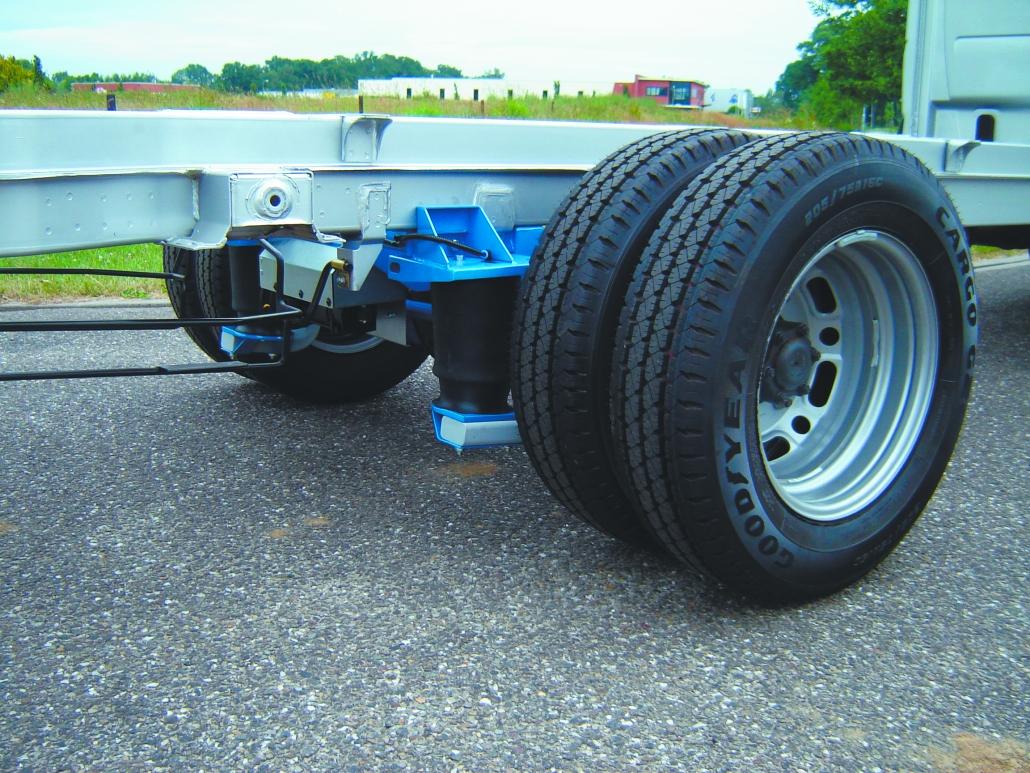 VB MB Sprinter FullAir sistema - Pneumatinė pakaba su pneumatinėmis oro pagalvėmis