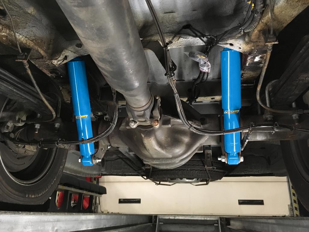 VB MB Sprinter galiniai amortizatoriai - Pneumatinė pakaba su pneumatinėmis oro pagalvėmis