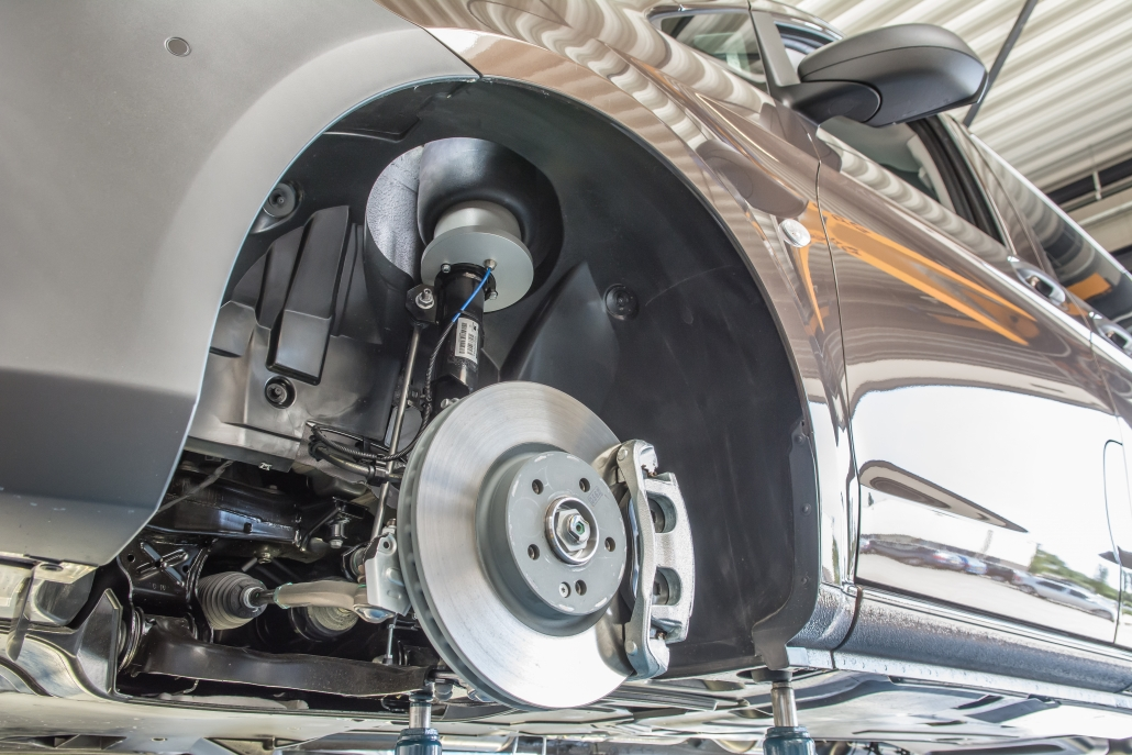 VB Mercedes-Benz V-Class FullAir sistema - Pneumatinė pakaba su pneumatinėmis oro pagalvėmis