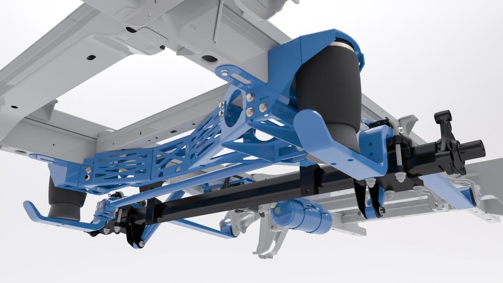 VB Volkswagen Crafter -MAN TGE FullAir sistema - Pneumatinė pakaba su pneumatinėmis oro pagalvėmis