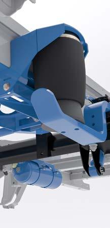 """""""VB-FullAir"""" visiškai pneumatinė pakaba, pasižyminti didelėmis valdymo galimybėmis"""