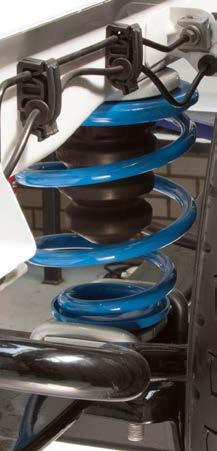 Pneumatinės pakabos sistemos - pneumatinės oro pagalvės - spyruoklės